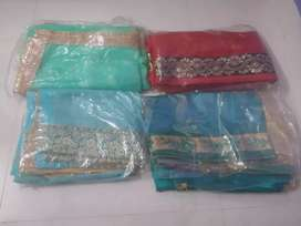 New Brand Sarees with Blouse Piece
