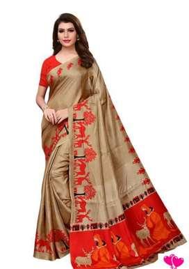 Elegant Efficient Khadi Cotton Sarees