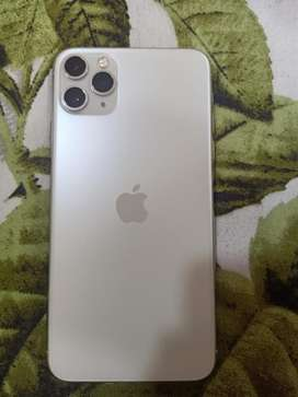 Iphone 11 Pro Max 256GB Silver Colour Urgent Sale