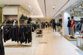 Full time job IN shopping mall for freshers male and female candidate