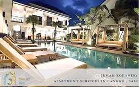 Bali Apartment Monthly Rental In Canggu Only 6 Juta (#TK)