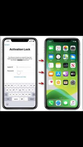 800/- Unlock iPhone/iPad Activation lock