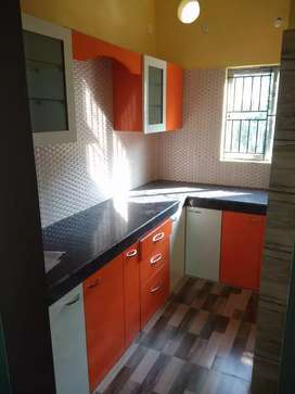 Brand new semi furnished 2 BHK house for rent