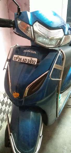 a good condition scooty