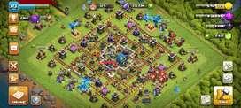 Akun clash of clans TH 12