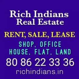 OFFICE, SHOP, HOUSE, FLAT, LAND FOR RENT, SALE, LEASE IN KOZHIKKODE