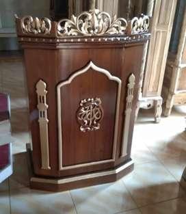 Mimbar masjid podium salin 005