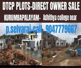 Saravanampatti kurumbapalayam DTCP PLOTS SALE