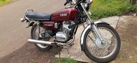 Rx100 repassing ohk bike is in good condition