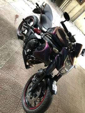 Kawasaki ER6n superbike