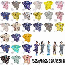 IZA Piyama Anak Size 8/10/12 price : 29.000 Tidak Bi