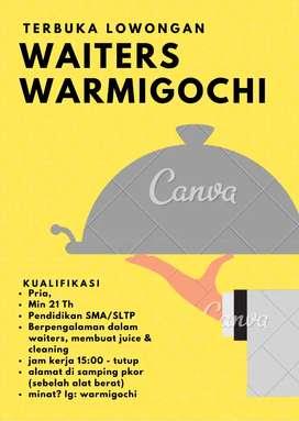 Waiters warmigochi