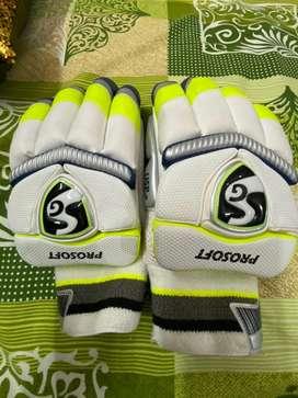 SG Prosoft Batting Gloves for Men