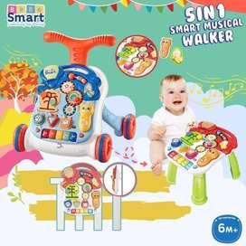 ,Bebe Smart 5 in 1 Walker Alat Bantu Jalan + Main