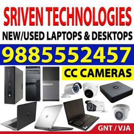 best used laptops - sriven technologies benz circle vijayawada