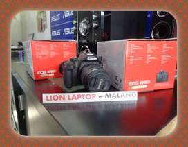 ▨ (Bekas) Kamera DSLR CANON EOS 4000D Fullset Kit 18-55mm IS III