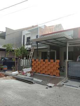 Kanopi rumah minimalis Jatiuwung