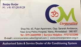 Sales executive for airconditioner sales