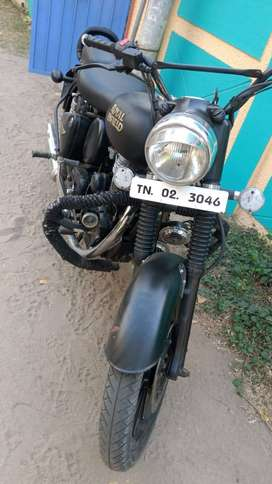 Old royal enfield, fully modified