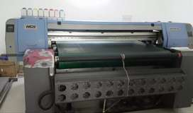 Allwin HGS DX5 digital printing machine - 4 Head