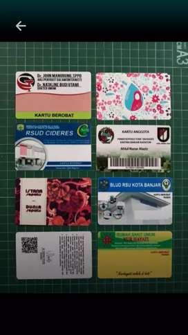 Kartu absen dan idcard dan member card