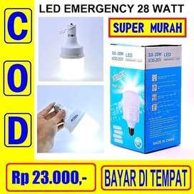 Lampu Led Emergency 28w Bohlam Sentuh Isi Ulang Sx28 PALING MURAH