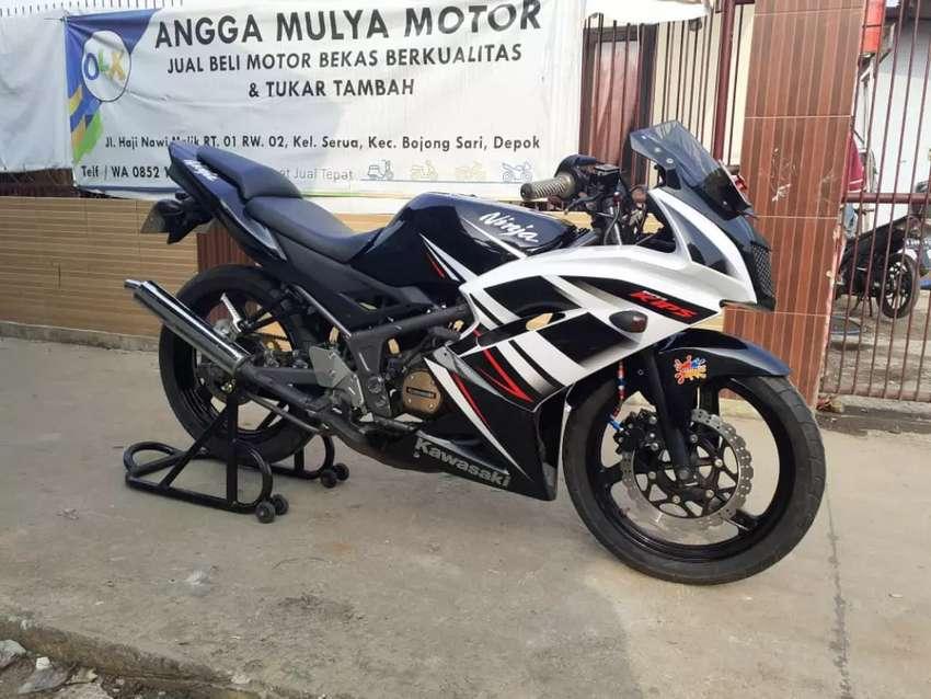 Ninja rr new SE 2015 plat f kabupaten 0