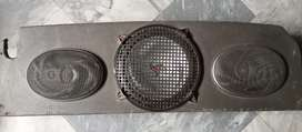 Car woofer and speakers