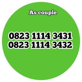 Nomor cantik as couple
