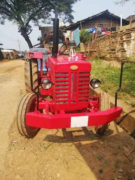 Mahindra tractor with trolley, 60000 kms driven, 2001 model,