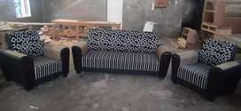 Sultan furniture box sofa set 3+1+1