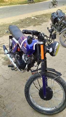 Suzuki max100 modified