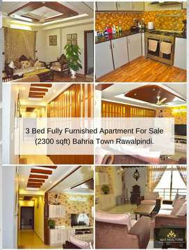 Luxurious three bed fully furnished apartment