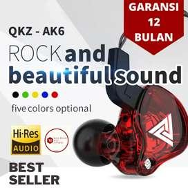 QKZ AK6 Headset Hi Res Gaming Sport Running mic