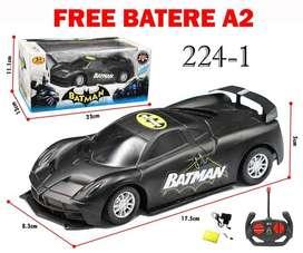 Mainan Anak RC Remote Control Mobil Remot Batman Racing Car Hitam