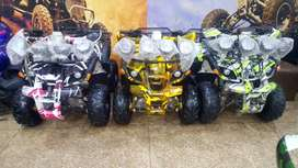 4 gear engine 125 cc Zero meter quad Atv quad bike 4 sale deliver pak