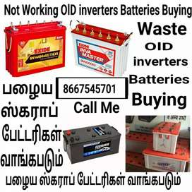 Buying Your Used OlD inverters Batteries Scrap taken