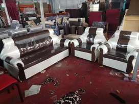 Brand new 3+1+1 sofa set in multi color at very reasonable price