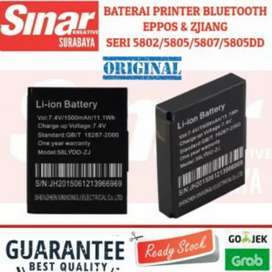 BATERAI PRINTER BLUETOOTH THERMAL EPPOS DAN ZJIANG SERI ep5805-5802AI
