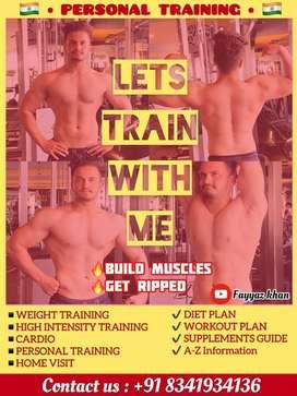 Peronal gym trainer
