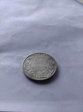 Half rupee 121 years old