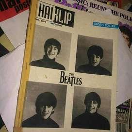 Majalah Haiklip edisi The Beatles langka.