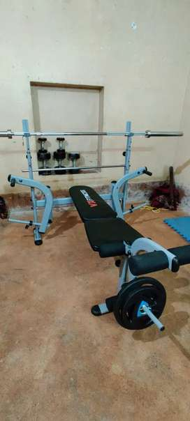 Olympic bench press New condition sell with original bill