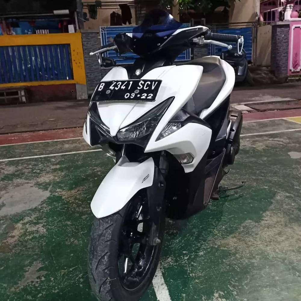 Yamaha Aerox 2017 ABS km 14000 an, pajak hidup, kilometer 14.000 an