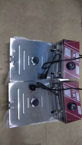 DEEP FRYER AND ICE CRUSHER