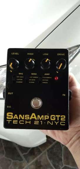 Efek Gitar Sans Amp GT2