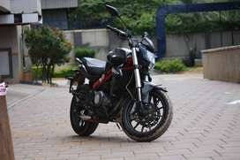 A well maintained 2015 Benelli 300 for sale