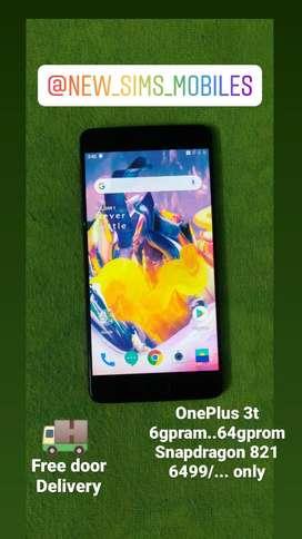 OnePlus 3t..6gpram..64gprom.. Snapdragon 821.. amoled..low price