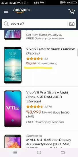 A well condition vivo v7. I need orjent money that why i sell it