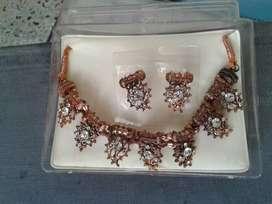 Neckless copper with diamond Big